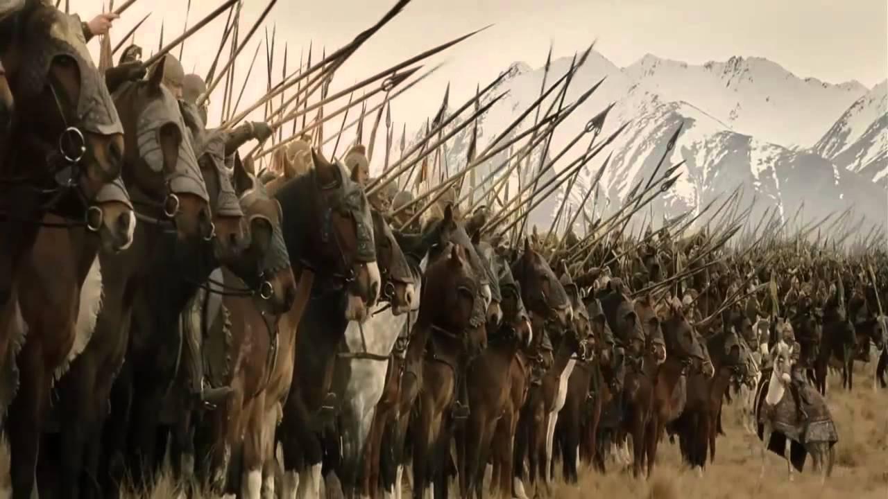 Der Herr Der Ringe:Die Schlacht am Pelennor - YouTube