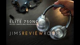 JBL Everest Elite 750nc  ACTIVE NOISE CANCELLING Headphones - REVIEW