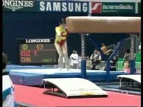Women's Team Final 3    The 1998 Bangkok Asian Games Gymnastics 1998年曼谷亞運會中國女子體操團體