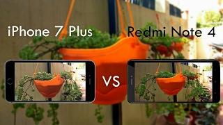 Redmi Note 4 Vs iPhone 7 Plus Camera