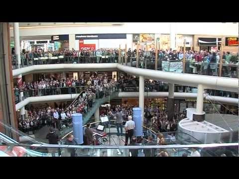 RTÉ Radio 1 Flash Mob Hallelujah Chorus in Dundrum Town Centre.