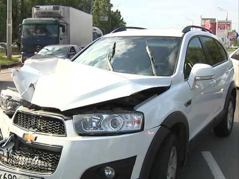 В результате аварии пострадали 6 машин