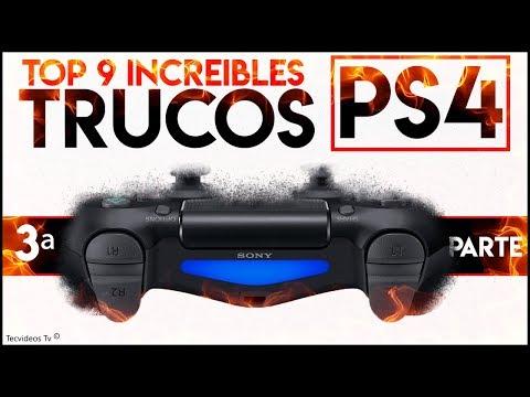 Nuevos TRUCOS de PS4 y Mando Dualshock 4 | TOP 9 TRUCAZOS OCULTOS de PlayStation 4