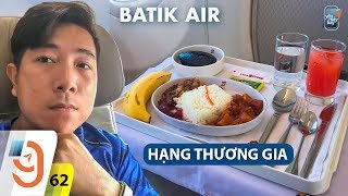 Flying Batik Air Business Class from Bali to Jakarta