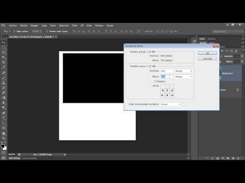 Curso Photoshop CS6 Capítulo 2 Cambiar el Tamaño del Lienzo o Imagen 17