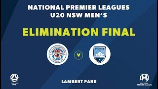 NPL NSW U2039s, Elimination Final, APIA Leichhardt Tigers FC v Sydney FC NPLNSW