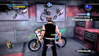 DEAD RISING 2 HD How to make a chainsaw bike