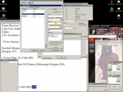 Tutorial Membuat Traineer AyoDance - With Cheat Engine 5.6.1