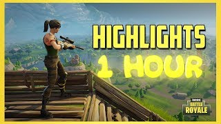 1 HOUR OF FORTNITE LEGENDARY HIGHLIGHTS (EPISODE 1)