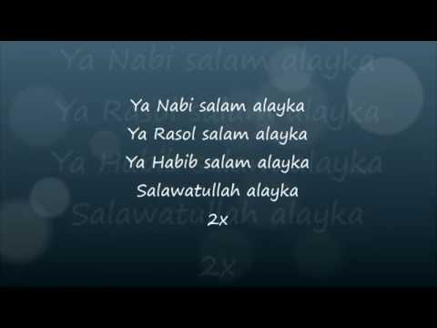 Maher Zain   Ya Nabi Salam Alayka Lyrics video