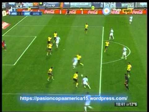 Argentina 1 Jamaica 0 (Relato Rodolfo de Paoli) Copa America 2015