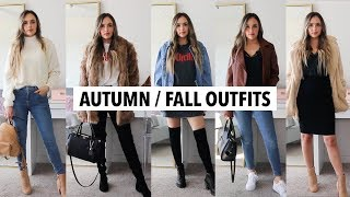 FALL/ AUTUMN OUTFITS 2018 | affordable try on haul & outfit ideas