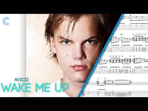 Guitar - Wake Me Up - Avicii - Sheet Music, Chords, and Vocals