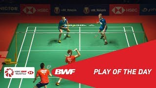 Play Of The Day   PERODUA Malaysia Masters 2019 QF   BWF 2019