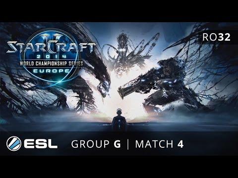 HasuObs vs. FireCake - Group G Ro32 - WCS Europe 2014 Season 1 - StarCraft 2