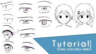 Tutorial ???Como dibujar distintos tipos de ojos estilo anime???