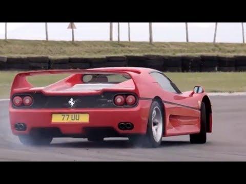 Ferrari F40 v Ferrari F50. Like You've Never Seen Them Before  /CHRIS HARRIS ON CARS