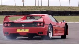 Ferrari F40 v Ferrari F50. Like You've Never Seen Them Before  /CHRIS HARRIS ON CARS