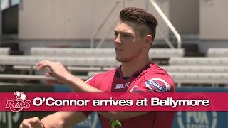 James O'Connor arrives at Ballymore | Super Rugby Video