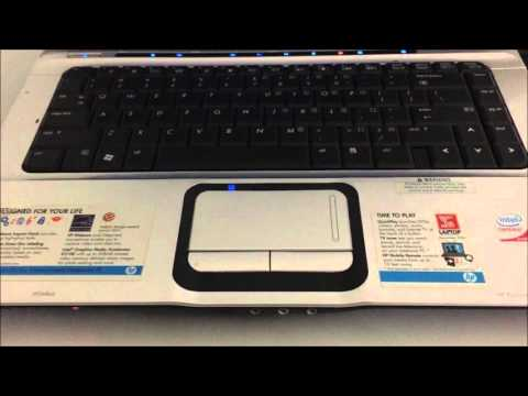 How to ║ Restore Reset a HP Pavilion DV6000 to Factory Settings ║ Windows Vista