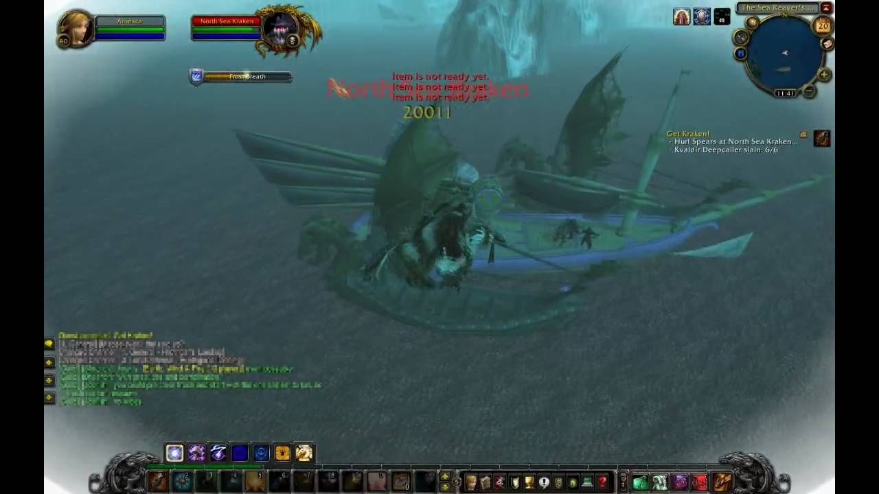 WoW Patch 3.2 - Get Kraken! - YouTube