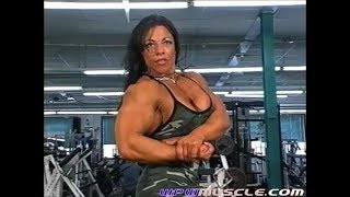 Female Bodybuilder Sondra Faas - V711 Video Preview 2