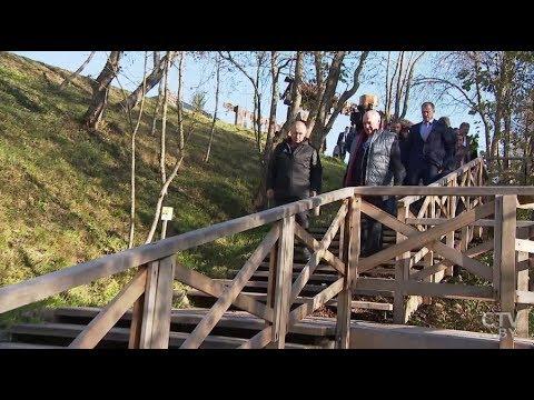 Лукашенко показал Путину свою малую родину (видео под песню Ланской)