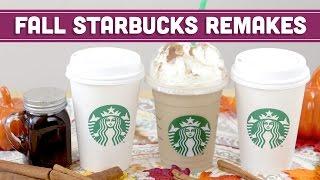 Healthy Starbucks DIY Fall Recipes (Vegan Cinnamon Dolce + Caramel Apple Spice) - Mind Over Munch