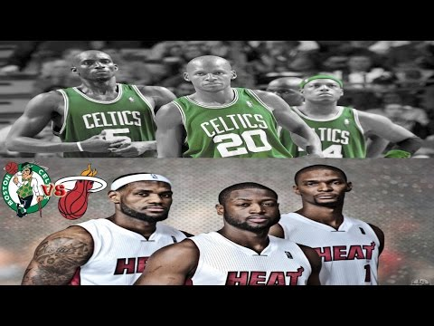 '12 Miami Heat vs '07 Boston Celtics - Playoff Series Simulator - BATTLE OF THE BIG THREE'S!
