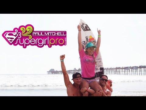 2012 Paul Mitchell Supergirl Pro Surf Contest