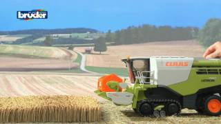 Bruder Toys Claas Lexion 780 Combine Harvester Green #02119