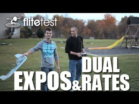 Flite Test - Expos and Dual Rates - FLITE TIP