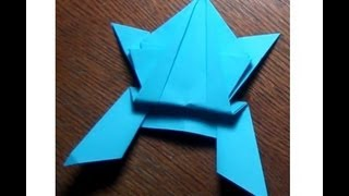 Origami - How To Make Paper Frog