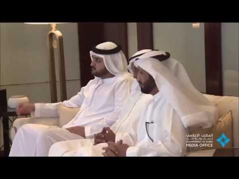 محمد بن راشد يستقبل الرئيس التنفيذي لمجموعة سيتي بنك العالمية بحضور حمدان بن محمد 2014/10/21