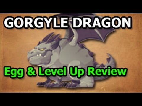 GARGOYLE DRAGON Dragon City Recruitment Tavern Egg and Level Up Fast Review