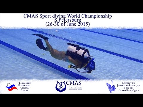 CMAS Sport Diving World Championship 2015 (St-Petersburg, Russia )