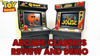 Arcade Classics Q*bert And Joust Review & Gameplay Demo