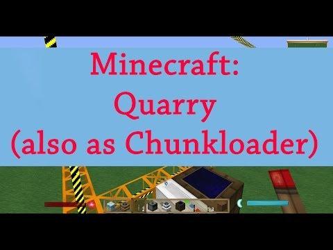 Minecraft Tutorial: Aufbau einer Quarry & eine Quarry als Chunk Loader [Deutsch]