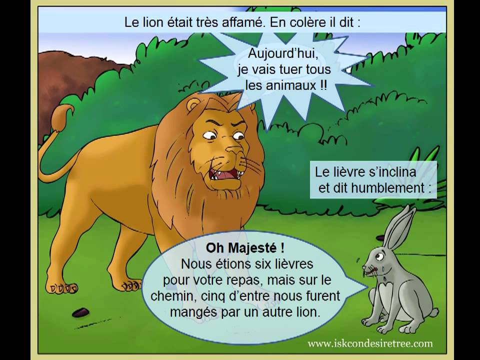 Le lion et le li vre youtube - Dessin le lion et le rat ...