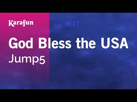 Karaoke God Bless the USA - Jump5 *