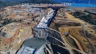 "Oroville Update 4 Oct ""4 Weeks and 85 feet to Go!"""