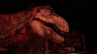 Visiting Jurassic World - T.Rex Paddock
