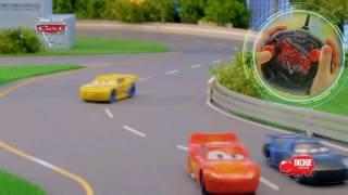 Dickie - Samochodziki z filmu Auta 3! - RC McQueen, Cruza & Sztorm - PL