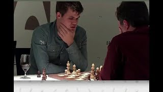 Magnus Carlsen brutally crushed his opponent after blundering the rook in the opening