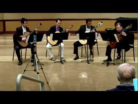 0 Live: Canon in D (Johann Pachelbel) classical guitar quartet