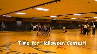 Franklin Roller Skate Club Halloween Costume Contest