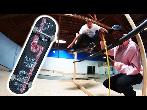CARBON FIBER HIGH OLLIE CHALLENGE