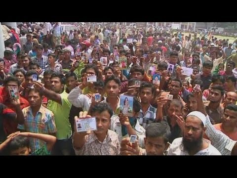 Rana Plaza building collapse: Death toll continues to rise in Bangladesh