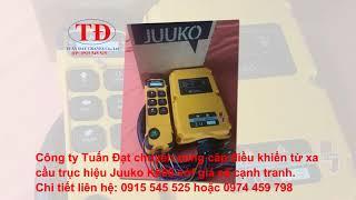 Điều khiển từ xa cầu trục Juuko K600, bộ điều khiển từ xa cầu trục Juuko K600