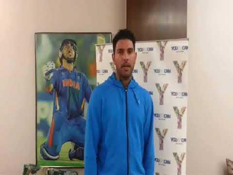 Yuvraj Singh: for MANAVTA CANCER FOUNDATION OF INDIA